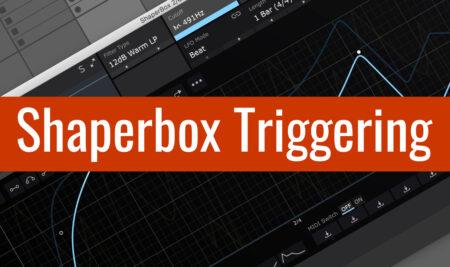 Shaperbox Triggering v Abletonu