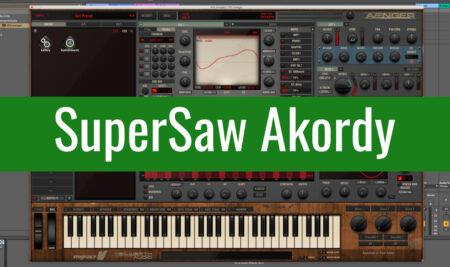 SuperSaw Akordy v Avengeru